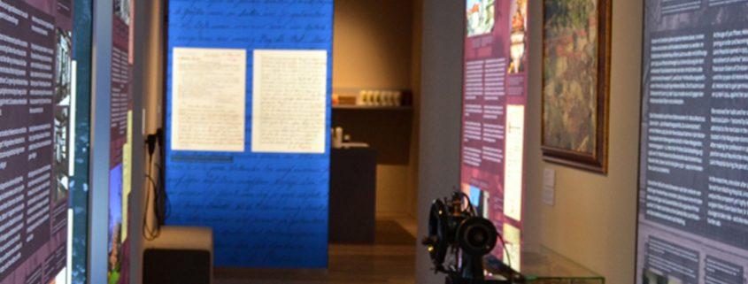 """Foto der Restituta-Ausstellung """"Glaube gegen NS-Gewalt"""""""