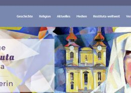 Bild der Website zur seligen Maria Restituta - Helene Kafka