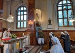 Schwestern in der Mutterhauskapelle